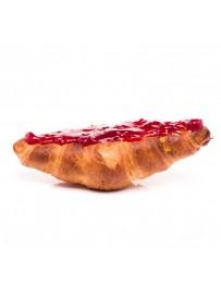 Ric's croissant met jam op de onderkant