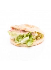 Mini pita met makreelsalade