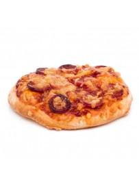 Pizza met tomaat