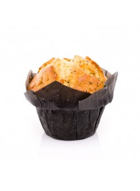 Lemon poppy muffin