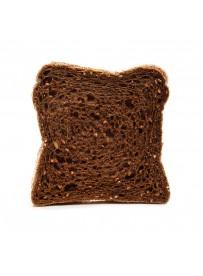 Thickly sliced dark sandwich