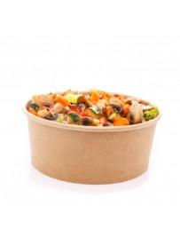 Salade met geroosterde groenten en balsamico dressing