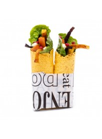 Carrot wrap with carrots